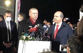 """Erdoğan: """"""""Buranın gerçek sahipleri aslında..."""