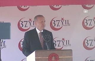 """Erdoğan: """"Doğu Akdeniz'de KKTC'nin..."""