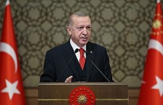 """Erdoğan: """"Doğu Akdeniz'de yakında müjdeli..."""