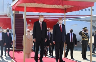 Erdoğan, KKTC'de