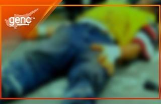 Gazimağusa'da iş kazası