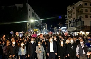 Harmancı'dan Demokrasi ve İrade' yürüyüşü...
