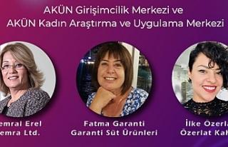 Kadın girişimci günü panelinde üç kadın girişimci...