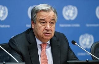 """Kıbrıs sorununda """"Gözler Guterres'te""""…"""