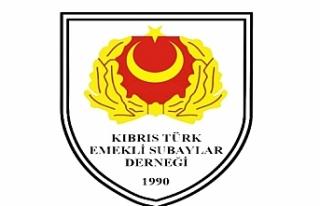 Kıbrıs Türk Emekli Subaylar Derneği Atatürk'ün...