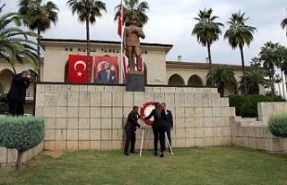Mersin'de tören düzenlendi
