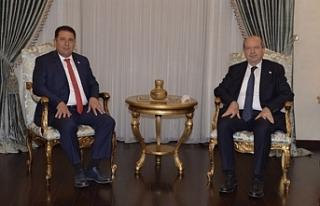 Saner hükümet kurma görevini Cumhurbaşkanı Tatar'a...