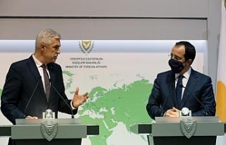 Slovakya Dışişleri Bakanı ile görtüştü