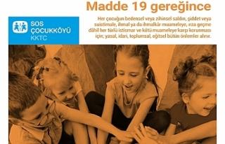 SOS Çocuk Köyü Derneği'nden çocuk hakları...