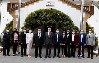 Tatar, Çin'li işadamlarını kabul etti