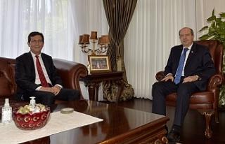 Tatar, Merkez Bankası Başkanı'nı kabul etti