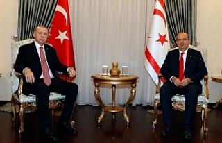 Tatar ve Erdoğan'dan iki saatlik görüşme