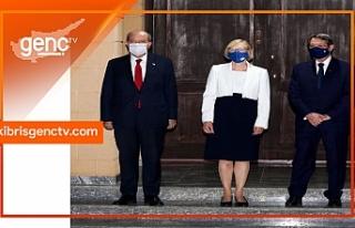 Türk ve Rum siyasi parti temsilcilerinden 5'li...