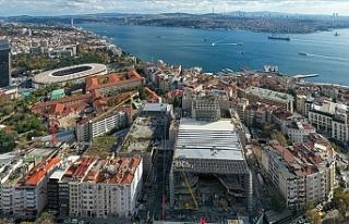 Türkiye'de yeni Atatürk Kültür Merkezi inşaatının...