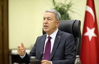 Türkiye Milli Savunma Bakanlığında video konferans...KTBK...