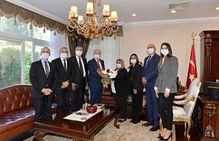 Başbakanlık Denetleme Kurulu üyelerinden Tatar'a...