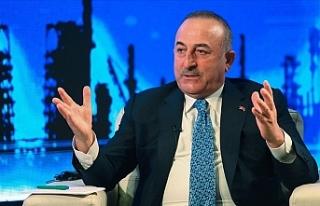 """Çavuşoğlu: """"Doğu Akdeniz'de hakça paylaşımdan..."""