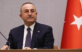 """Çavuşoğlu: """"Yaptırım bizim egemenlik haklarımıza..."""