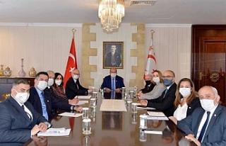 Cumhurbaşkanlığı'nda değerlendirme toplantısı