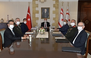 Cumhurbaşkanlığı'nda üst düzey toplantı