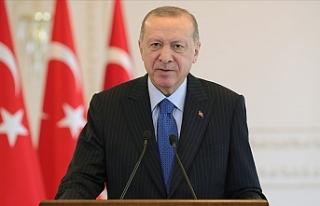 Erdoğan, Noel Yortusu dolayısıyla yayımladığı...