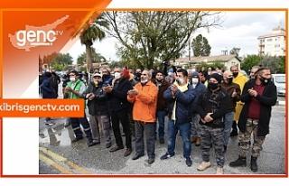 Eylemciler, Pilli'nin açıklamasına tepki gösterdi