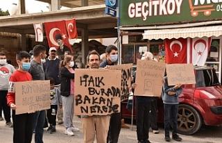 Geçitköy Muhtarlığı'ndan eylem