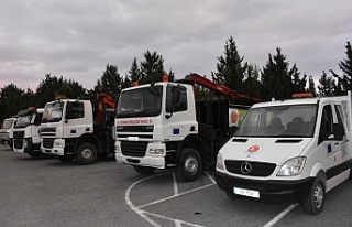 Girne Belediyesi, beş adet araç satın aldı