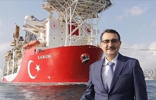 """""""Kanuni sondaj gemisi Karadeniz'de sondaja..."""