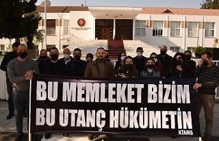 KTAMS, Hükümeti protesto etti