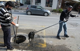 LTB, kanalizasyon ana hattındaki sorunun giderildiğini...