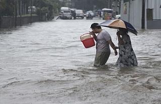 Sel nedeniyle 1463 ev su altında kaldı
