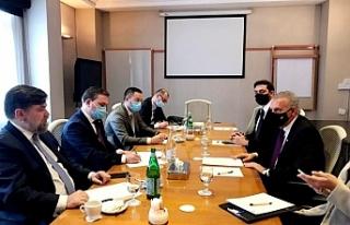 Sırbistan Dışişleri Bakanı, Fotiu ile göüştü