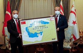 """Tatar: """"KKTC, Mavi Vatan'da önemli bir rol..."""