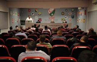Toplantıda 2020-2021 futbol sezonunun oynatılmaması...