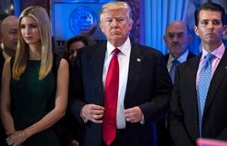 Trump'ın kızı Ivanka Trump, gereksiz harcamaları...