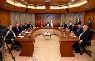 Yeni Bakanlar Kurulu'ndan ilk toplantı