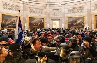 ABD Kongresinin basılması sırasındaki olaylarda...