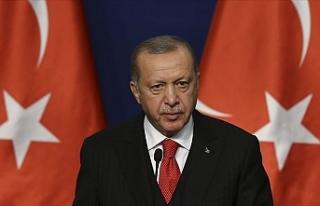 """Erdoğan: """"Aşılarda alınan bir mesafe var"""""""