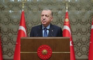 """Erdoğan: """"Üç yenilikçi aşı adayımız,..."""