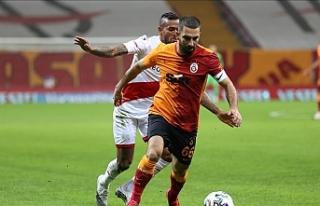 Galatasaray averajla liderliği kaybetti