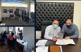 Gazimağusa Devlet Hastanesine yeni bir PCR test noktası...