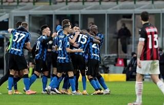 İtalya Kupası'nda Inter, Milan'ı 2-1...