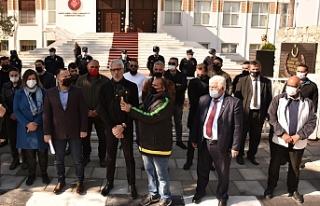 Sendikal Platform Hükümeti protesto etti