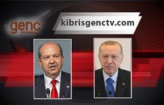 Tatar, Erdoğan ile telefon görüşmesi gerçekleştirdi