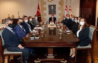 Tatar, komite eş başkanları ile toplantı gerçekleştirdi