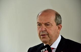 """Tatar: """"Resmi müzakereler ancak iki eşit devlet..."""