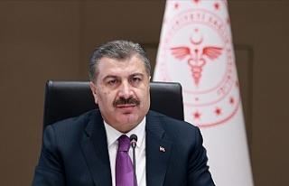 Türkiye'de sağlık çalışanlarının aşılanmasına...