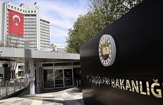 """Türkiye Dışişleri Bakanlığı: """"ABD'deki..."""