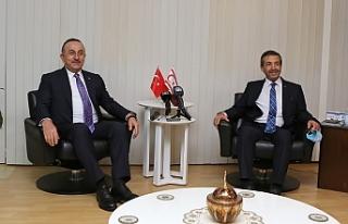 """Çavuşoğlu: """"Bir müzakere zemini var mı yok..."""